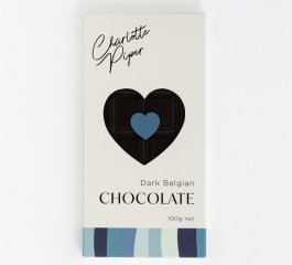 Charlotte Piper Dark Belgian Chocolate 100g