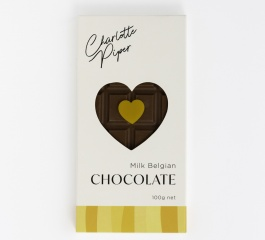 Charlotte Piper Milk Belgian Chocolate 100g