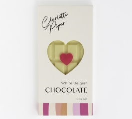 Charlotte Piper White Belgian Chocolate 100g