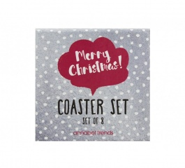 Coasters - Christmas Cheer Set