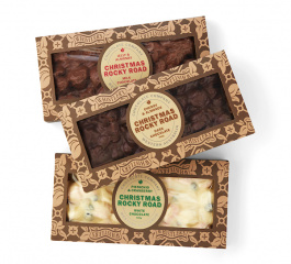 Whistlers Christmas Rocky Road 400g - Various Flavours