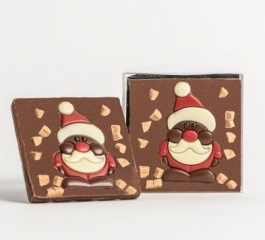 Chocolate Co Santa Milk Chocolate Bar 60g