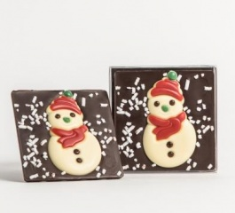 Chocolate Co Snowman Dark Chocolate Bar 60g