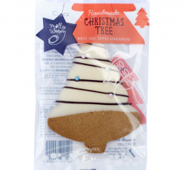 Molly Woppy Choc Dipped Christmas Gingerbread Tree 44g