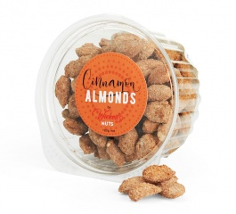 Wicked Nuts Cinnamon Almonds - Various Sizes