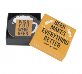 Coasters - Beer Quotes Set