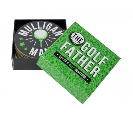Coasters - Golf Quote Set