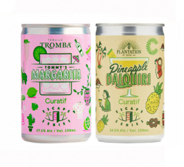 Curatif Margarita and Daiquiri Duo, 2 X 130ml