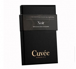 Cuvee Chocolate Noir 80% Dark Chocolate 70g
