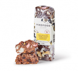 Vinofood Dark Choc, Cherry, Coconut and Spiced Wine Rocky Road 220g