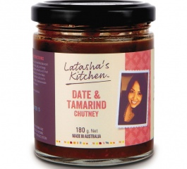 Latasha's Kitchen Date and Tamarind Chutney 180g