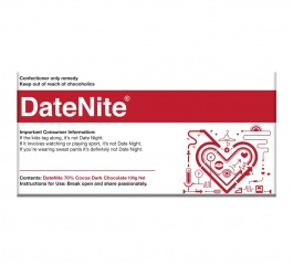 Bellaberry Date Nite Dark Chocolate 100g