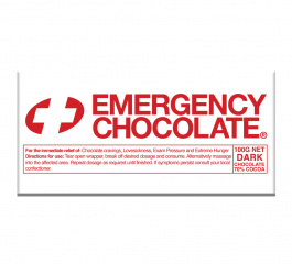 Bellaberry Emergency Dark Chocolate 100g