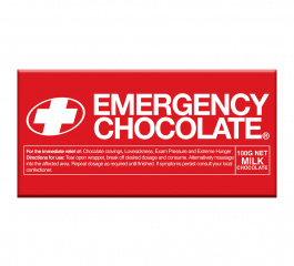 Bellaberry Emergency Milk Chocolate 100g