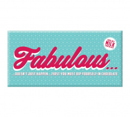 Bellaberry Fabulous Milk Chocolate 100g