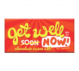 Bellaberry Get Well Now Milk Chocolate 100g