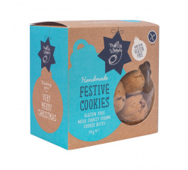 Molly Woppy Festive Choccy Chunk Cookies 130g