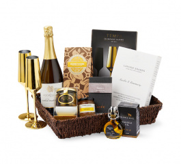 Golden Days - Gourmet Gift Basket