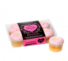 Great Temptations Berry Swirls 6 Pack 300g