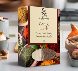 Simply Stirred Dinner Pack - Greek Lamb