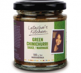 Latasha's Kitchen Green Chimichurri Sauce/Marinade 180g