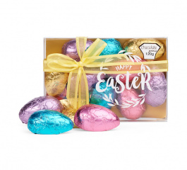 Chocolate Gems Happy Easter Half Eggs 120g
