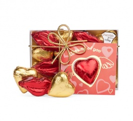 Chocolate Gems Heart and Kisses with Card 120g