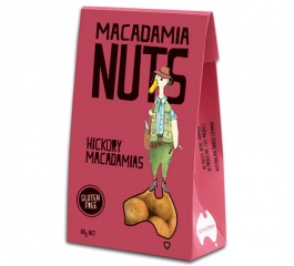 Duck Creek Macadamia Nuts Hickory 80g