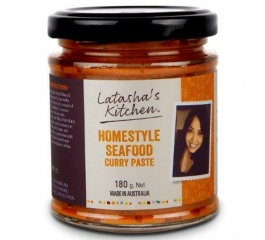 Latasha's Kitchen Homestyle Seafood Curry Paste 180g
