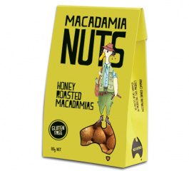 Duck Creek Macadamia Nuts Honey Roasted 80g