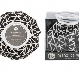 Hotbotts Retro Ice Pack - Black Squares