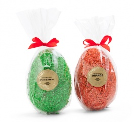 Whistlers Flavoured Freckled Eggs 150g - Jaffa or Mint