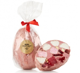 Whistlers Rocky Road Egg - Ruby Choc 300g