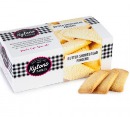 Kytons Bakery Butter Shortbread Fingers 150g