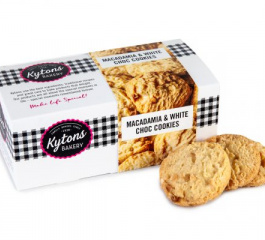 Kytons Bakery Macadamia and White Chocolate Cookies 150g