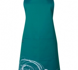 Ogilvies Designs Whipped Apron - Emerald Ice