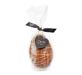 Charlotte Piper Large Decorated Milk Choc Egg 200g