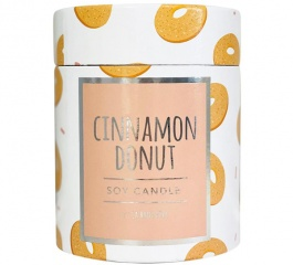 La Bang Woodwick Candle Cinnamon Donuts