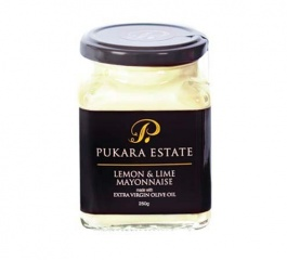 Pukara Estate Lemon and Lime Mayonnaise 250g
