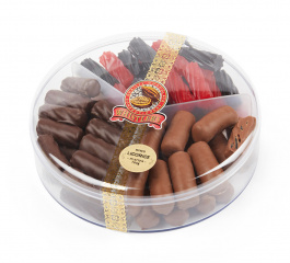 Whistlers Licorice Platter 650g
