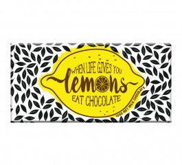 Bellaberry Life When Gives You Lemons Milk Chocolate 100g