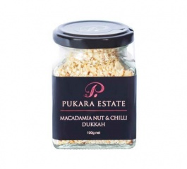 Pukara Estate Macadamia Nut and Chilli Dukkah 100g