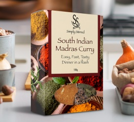 Simply Stirred Dinner Pack - South Indian Madras 100g