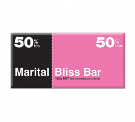 Bloomsberry Marital Bliss Milk Chocolate 100g