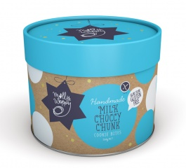 Molly Woppy Milk Choccy Chunk Cookie Bites Tube 260g