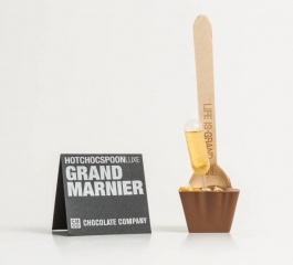 Chocolate Co Grand Marnier Milk Chocolate Spoon 50g