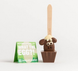 Chocolate Co What The Egg Sheep Milk Chocolate Spoon 50g