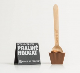 Chocolate Co Praline Nougat Milk Chocolate Spoon 50g