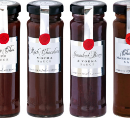 Ogilvie & Co Mini Dessert Sauces 115ml