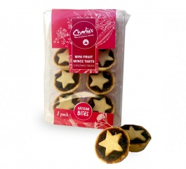 Charlie's Cookies Mini Fruit Mince Tarts - 8 pack